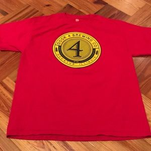 Door 4 brewing company Illinois size large T-shirt